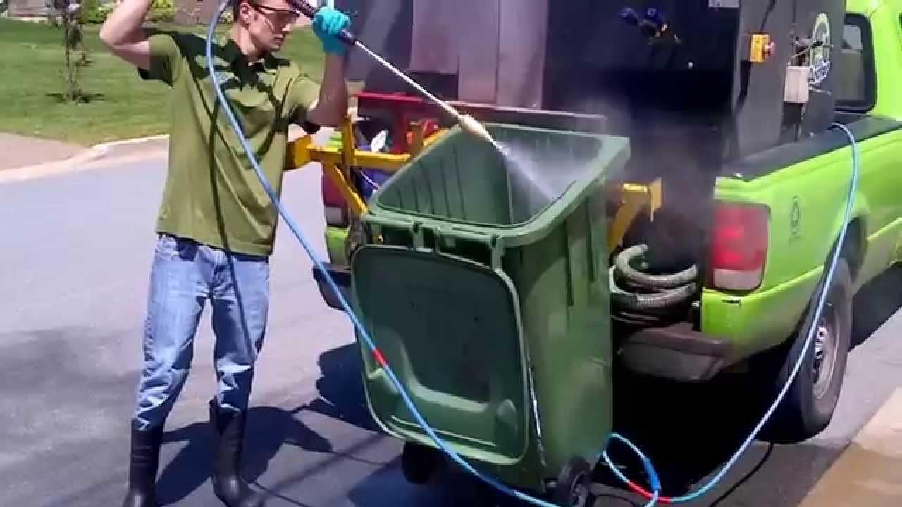 Çöp Konteyneri Temizleyici